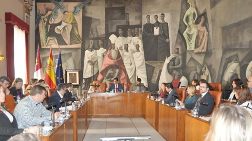 Pleno de la Diputación de Ciudad Real