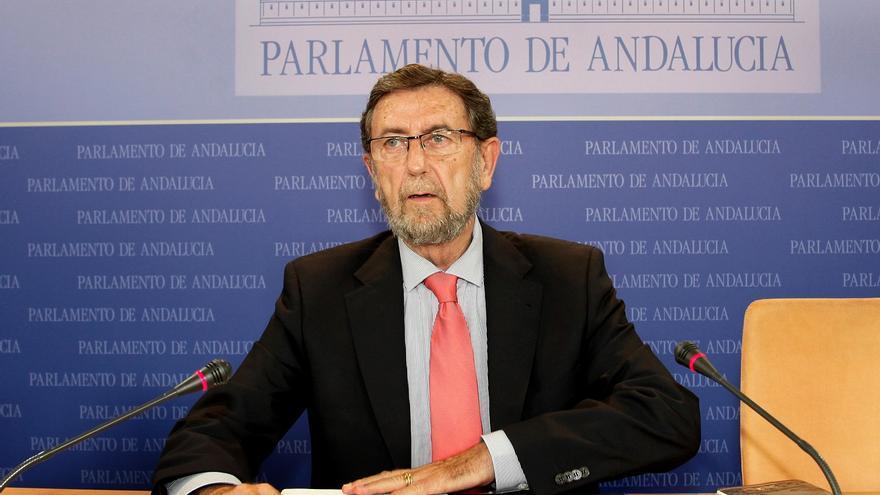 Manuel Gracia, presidente del Parlamento de Andalucía
