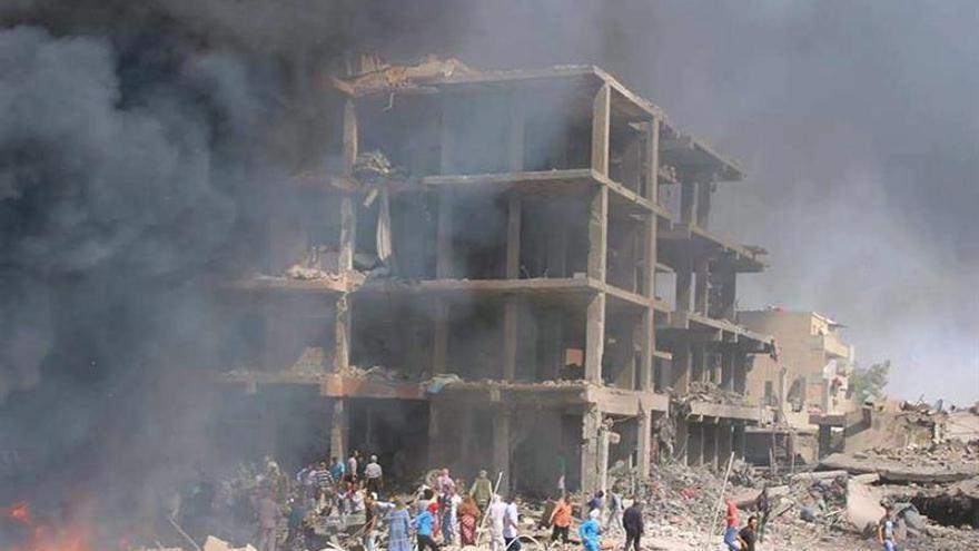 Activistas elevan a 57 el número de muertos en el atentado en la zona kurdosiria