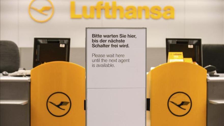 Los pilotos de Lufthansa inician una nueva huelga parcial en el transporte de carga
