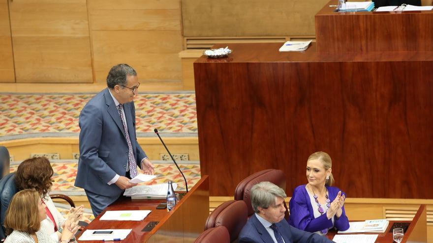 """PP en la Asamblea de Madrid recuerda que su código ético exige dimisiones cuando se produce """"formalmente"""" imputación"""