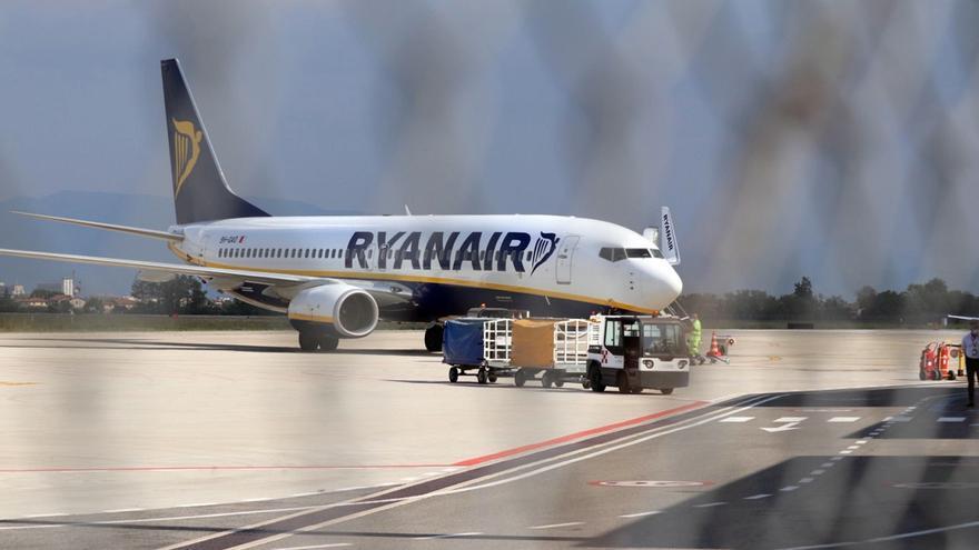 Ryanair aumentó el 58 % su tráfico de pasajeros en agosto respecto a 2020