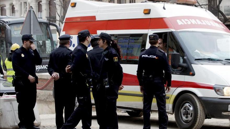 Tres heridos en un tiroteo en una finca cerca de la sede judicial de Valencia