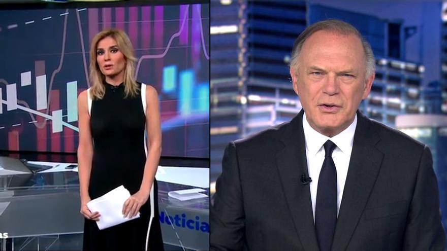 Sandra Golpe y Pedro Piqueras