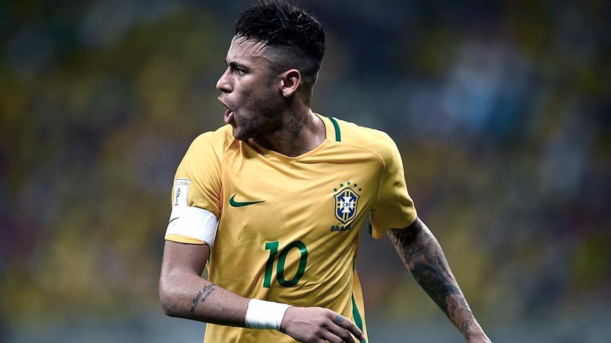 Neymar, de 29 años, figura del PSG francés, no quiere disputar la Copa América Brasil 2021.