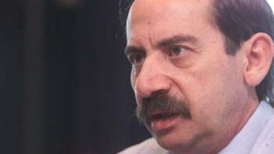 Julio Bonis, ex consejero de Sanidad y Presidencia del Gobierno de Canarias.