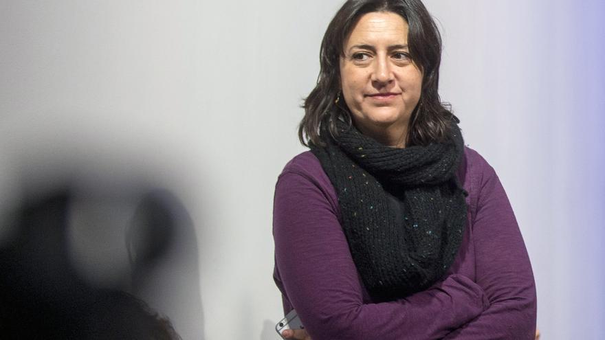 La diputada provincial de Esquerra Unida Rosa Pérez Garijo