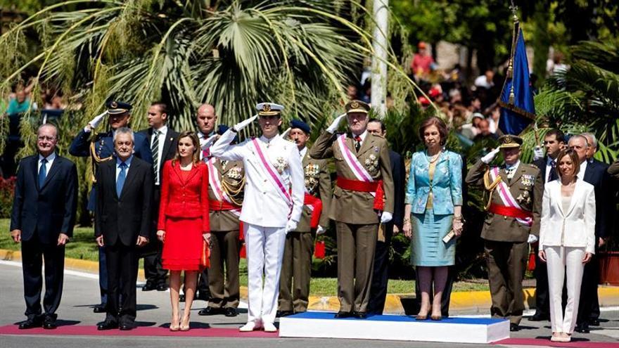 """Los Reyes, de Chacón: """"Nunca olvidaremos su compromiso y servicio a España"""""""