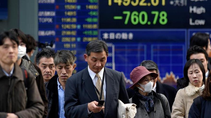 Tokio abre con una caída del 1,24 por ciento hasta los 16.755,30 puntos