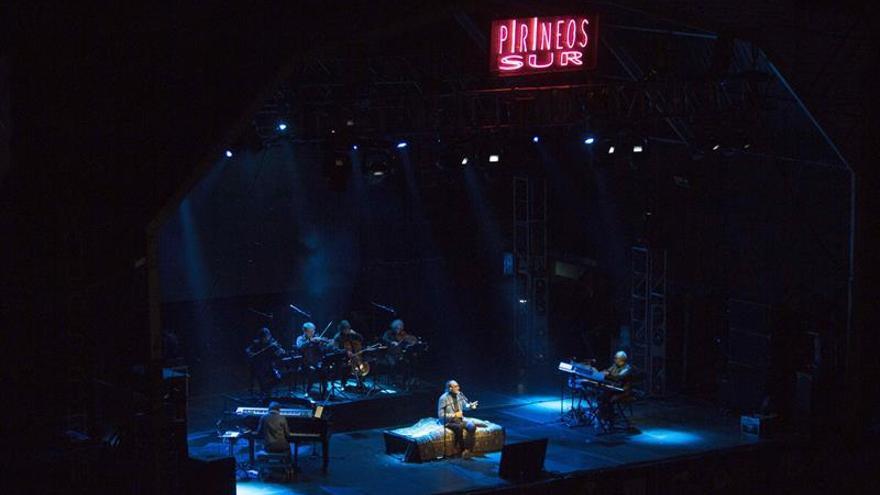Franco Battiato, la fuerza de la poesía y de la música en Pirineos Sur