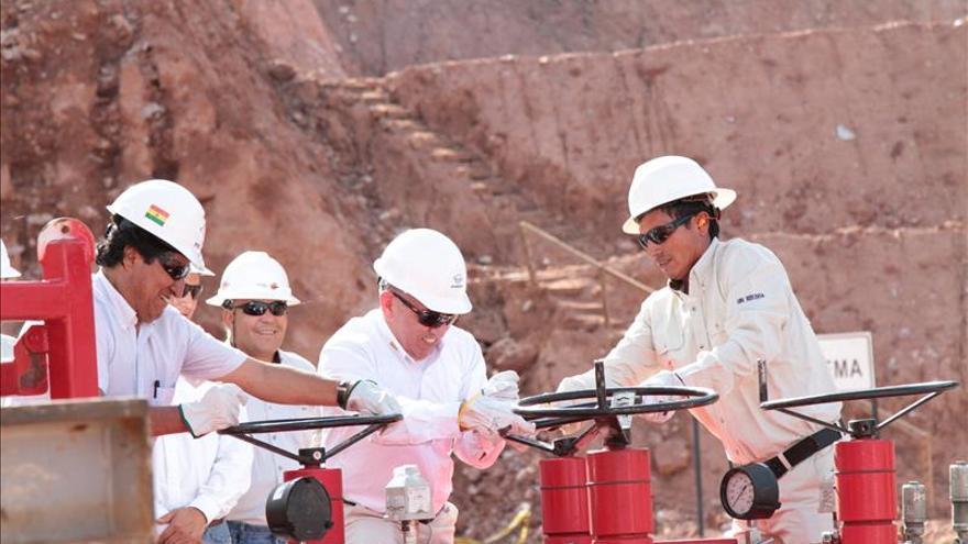 Repsol anuncia un nuevo hallazgo de gas natural en un campo del sur de Bolivia