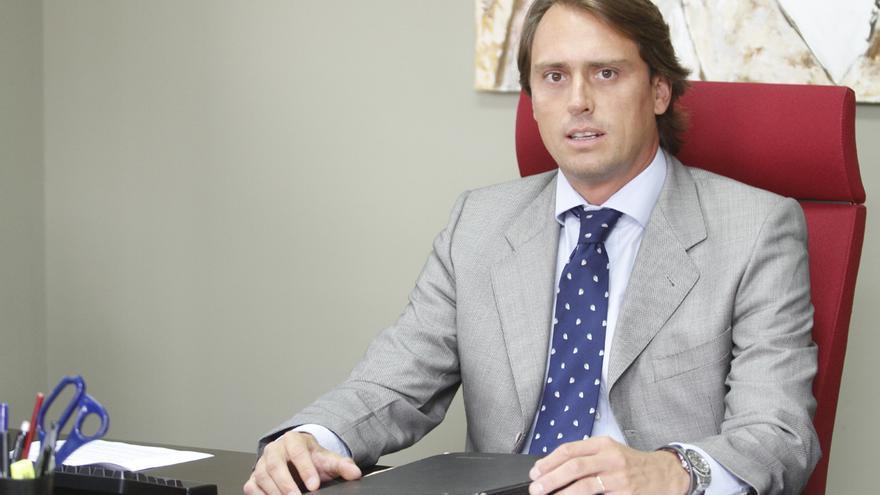 Alfonso Segovia, en su etapa como concejal en Boadilla. Foto: Ayuntamiento de Boadilla del Monte