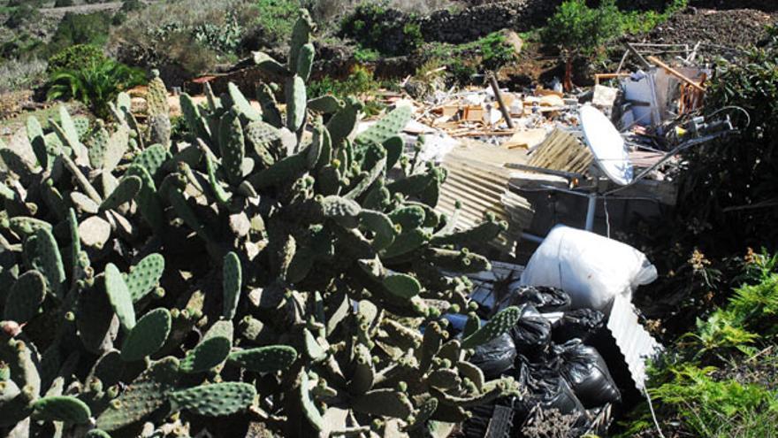 Del estado de la vivienda tras la explosión #4