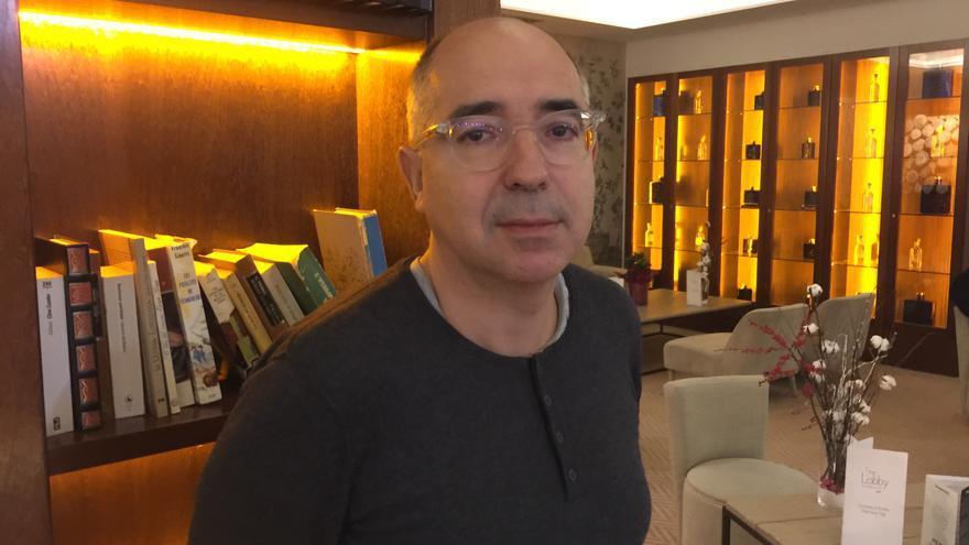 El escritor y profesor universitario Xavier Casals