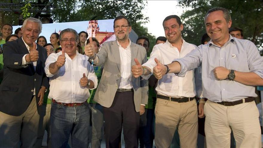 """Rajoy avisa de que las alianzas de """"todos contra el PP"""" serían """"letales"""" para España"""