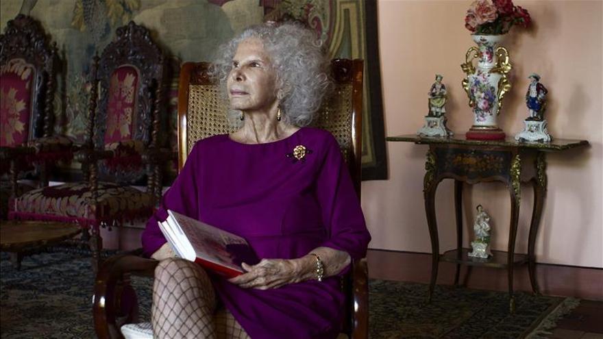 Hospitalizada la duquesa de Alba para una 'revisión rutinaria'