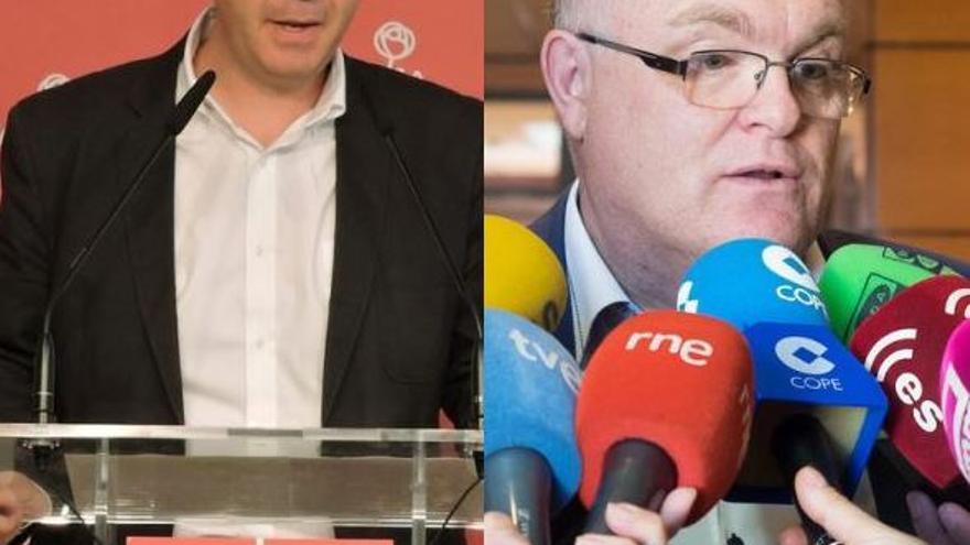 Santiago Cabañero y Pedro Antonio Ruiz Santos