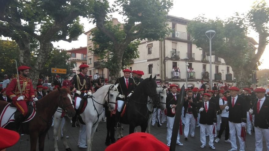 Archivo - Alarde tradicional de San Marcial.