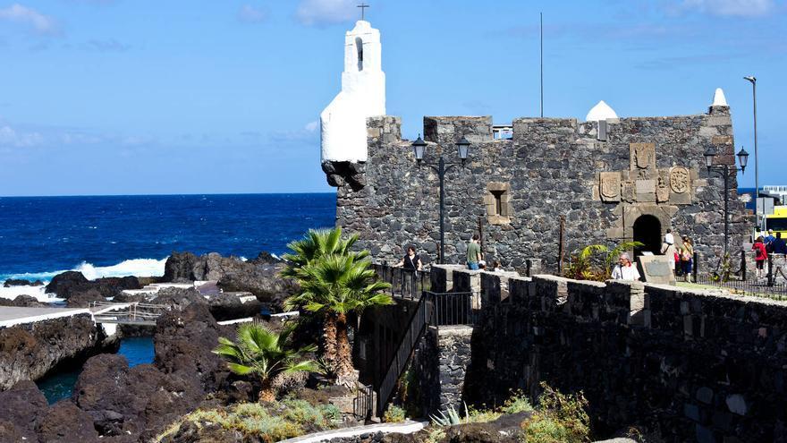 Castillo de San Felipe, en la villa y puerto de Garachico. VIJAR AHORA