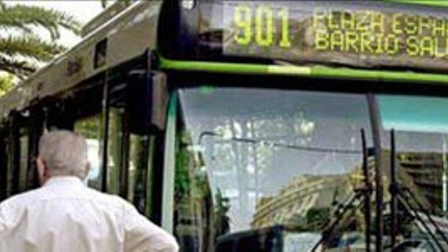 Titsa ha perdido 13 millones de pasajeros en 6 años