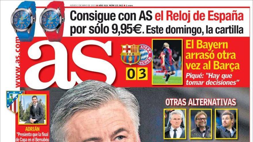 Las portadas del día (2-05-2012) #5