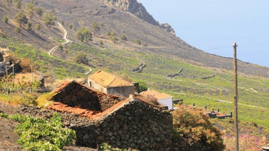 Paisaje del municipio de  Fuencaliente