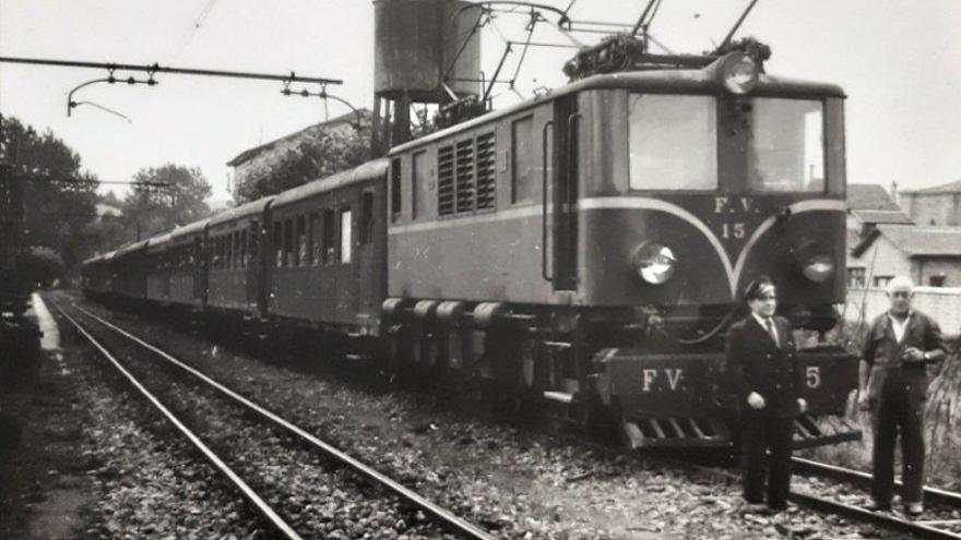 125 años del primer vehículo ferroviario eléctrico en España, en imágenes