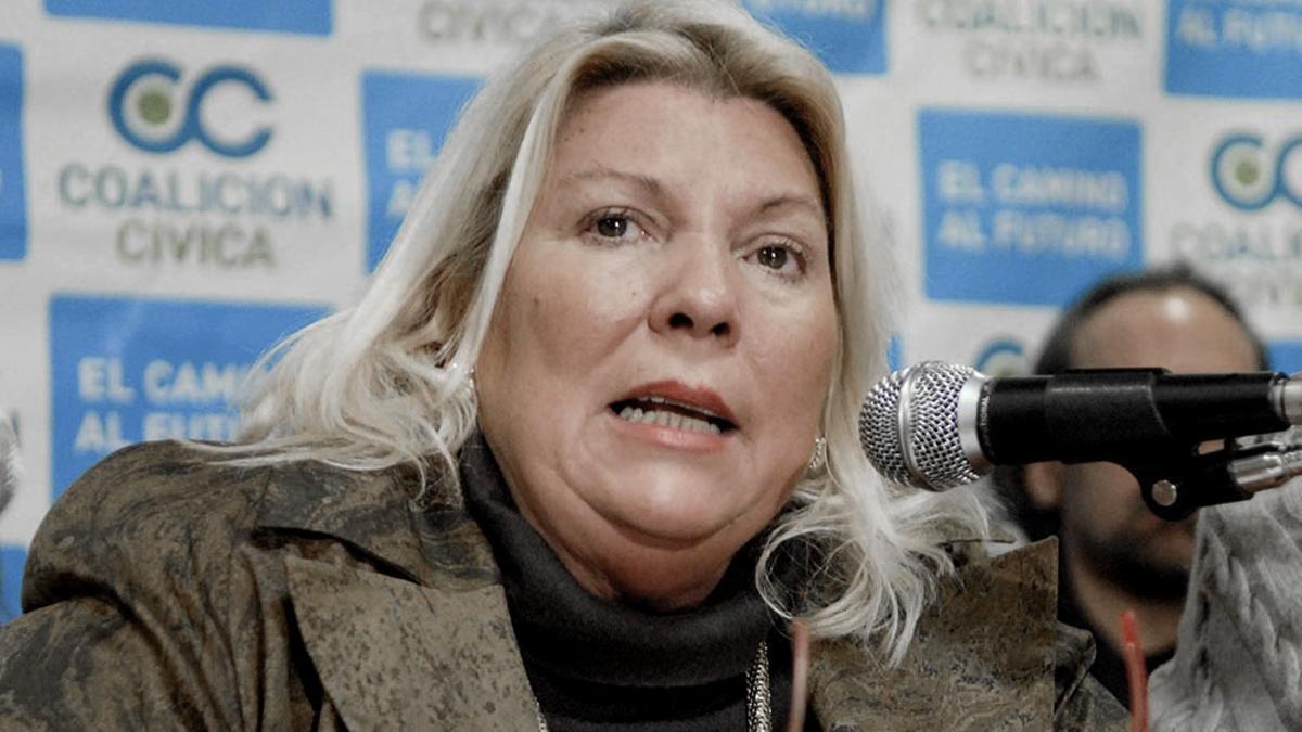 Lilita Carrió decidió no postularse en la Provincia de Buenos Aires