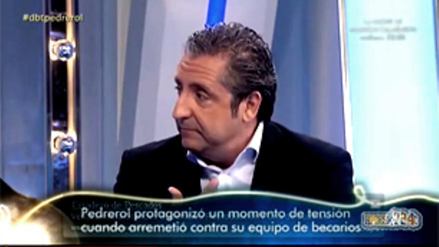 """Pedrerol se defendió en 'El Gran Debate' de su polémica con los becarios: """"Hay gente que me tiene ganas"""""""