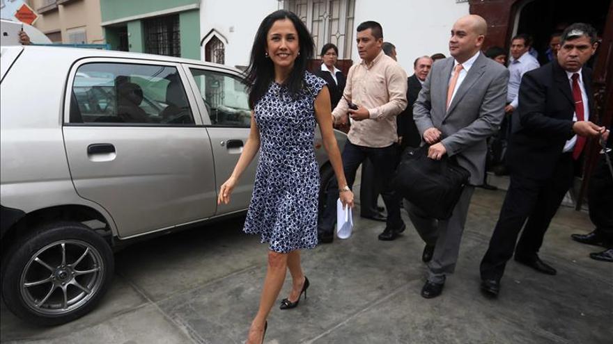 Primera dama de Perú reconoce que las agendas son suyas, según su abogado