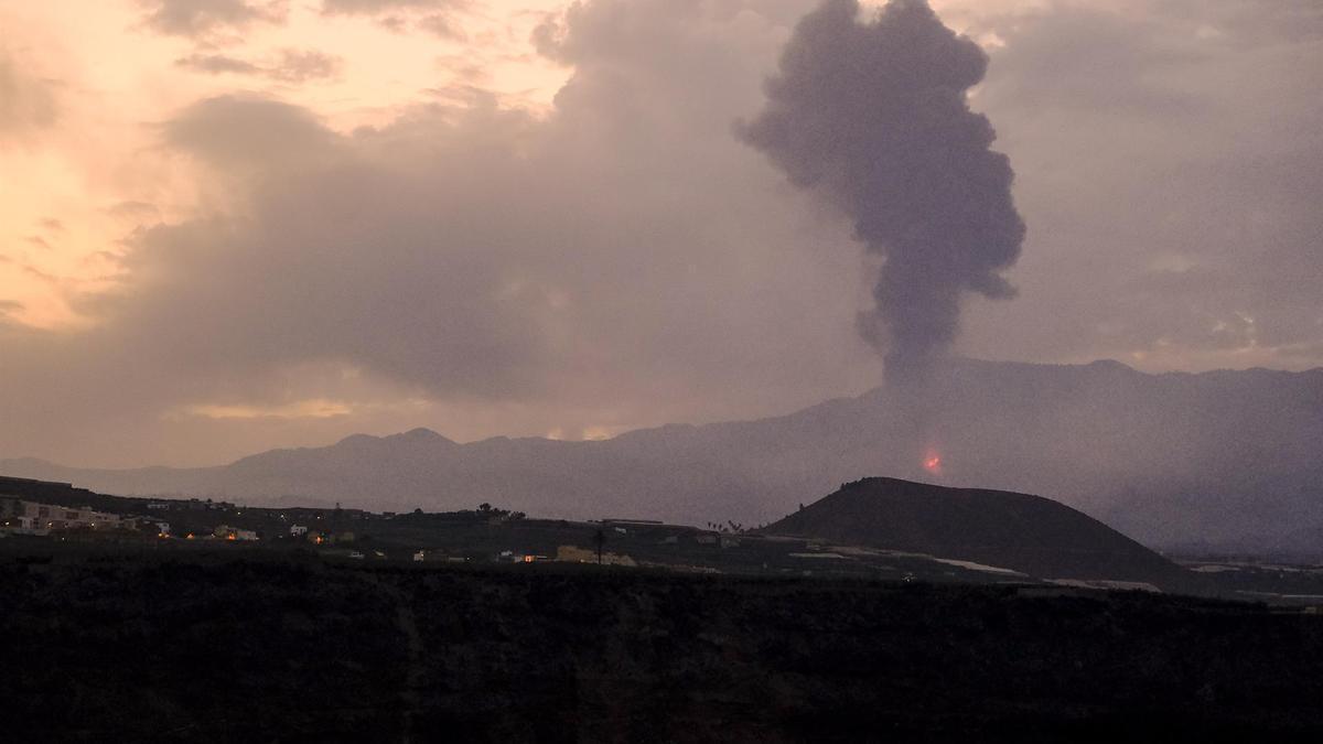 Volcán de La Palma, este lunes