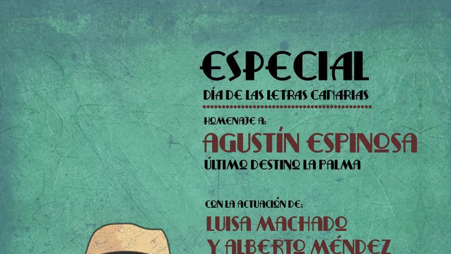Cartel del Día de las Letras Canarias.