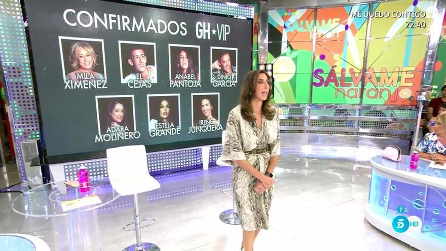 'Sálvame' confirma sin querer a Irene Junquera como concursante oficial de 'GH VIP 7'