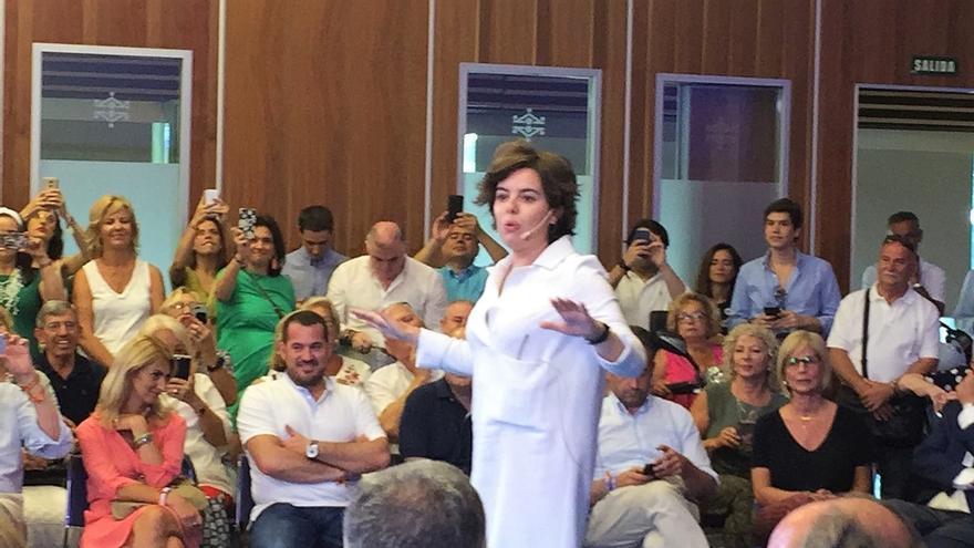 """Santamaría defiende que """"la militancia ha hablado"""" y ve que """"lo prioritario"""" antes que el debate es la integración"""