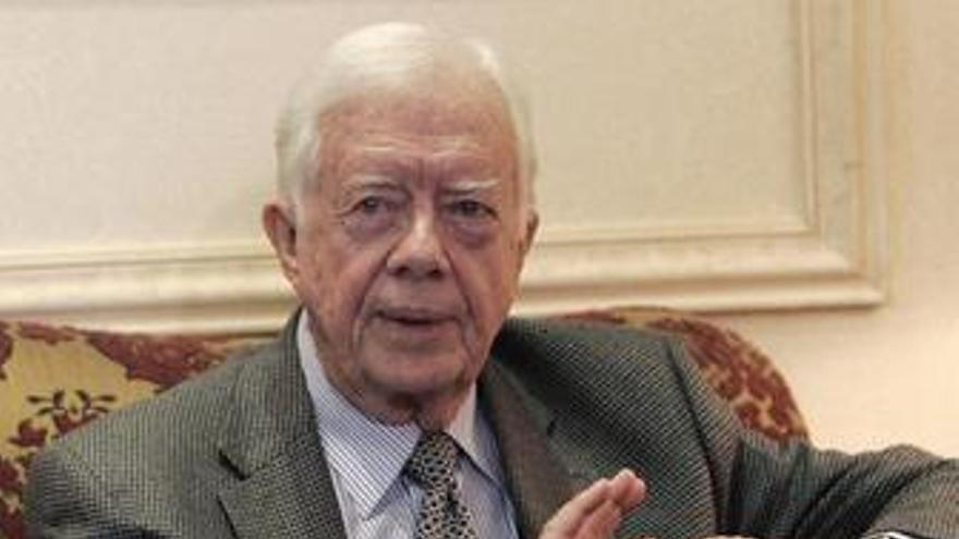 Jimmy Carter ex presidente de EEUU