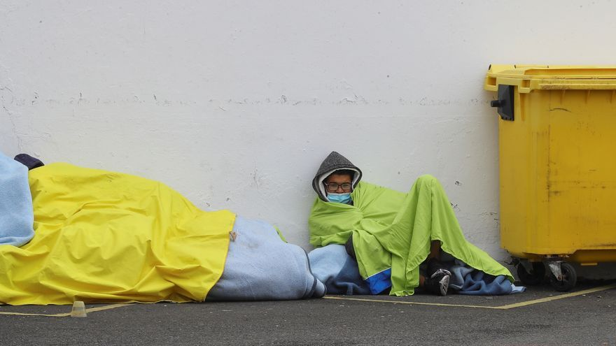 Somos Red exige a Cruz Roja que readmita a los 62 migrantes expulsados del campamento Canarias 50