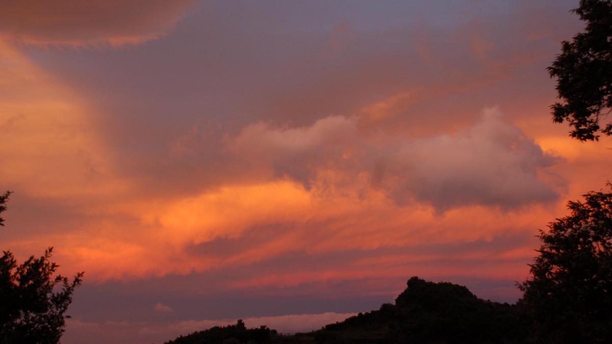 Nublado  en el norte de La Palma.