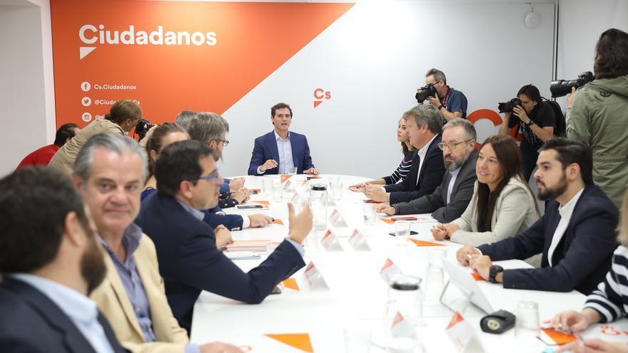 Rivera transmite un mensaje de ánimo y fuerza a los secretarios de Organización de Cs ante las elecciones