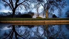 Vista general de la Casa Blanca en Washington DC, Estados Unidos.