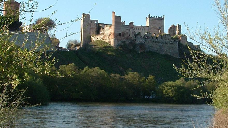 Río Alberche en su paso por Escalona