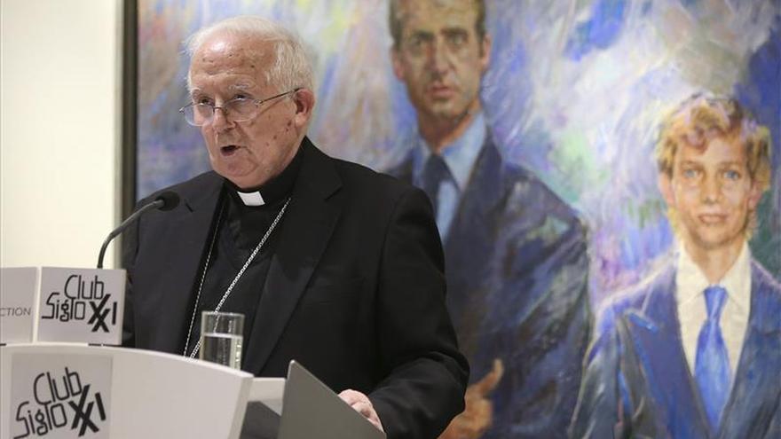 """El cardenal Cañizares convoca una vigilia para """"orar por España y su unidad"""""""