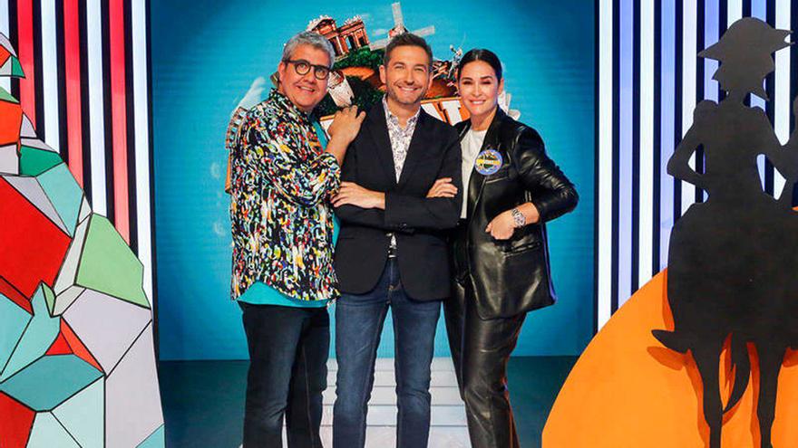 Florentino Fernández, Frank Blanco y Vicky Martín Berrocal, en Typical Spanish