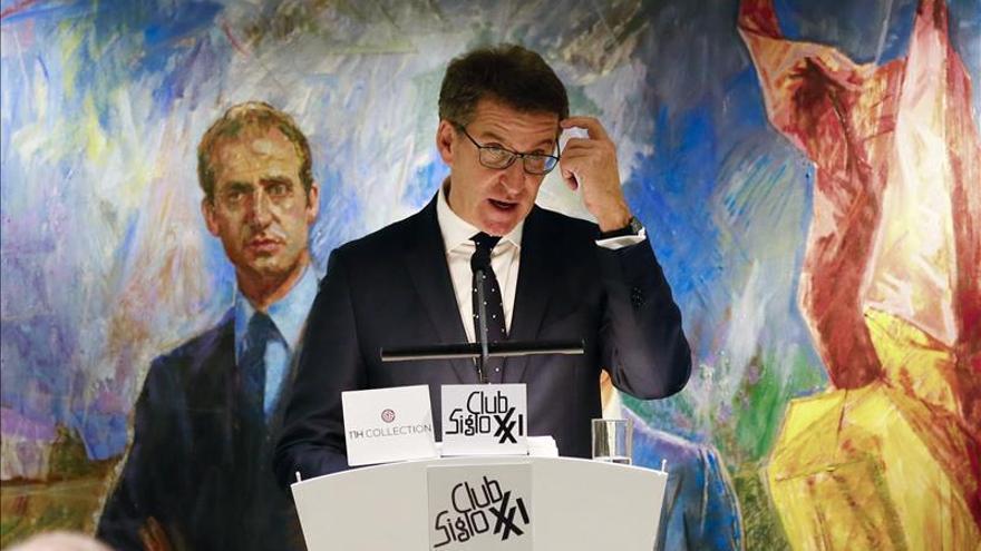 Feijóo ve moción independentista como golpe al Estado y daño al autogobierno