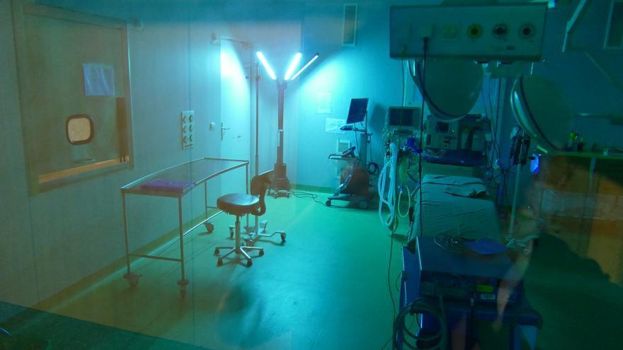 Cámara termográfica instalada en los hospitales de Quironsalud para detectar personas con fiebre de forma automática.
