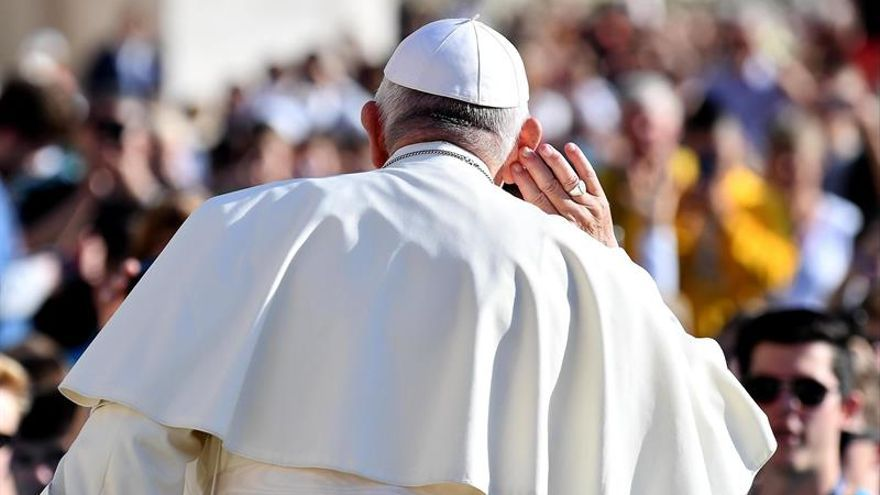 Audiencia del papa Francisco en el Vaticano