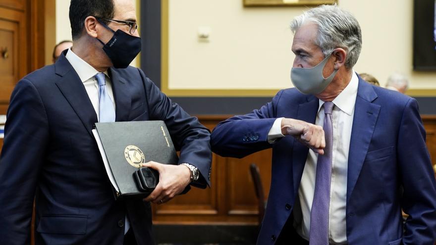El Tesoro de EE.UU. cancela programas de préstamos de emergencia ante la covid