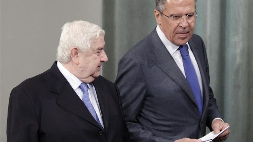 Lavrov: Rusia seguirá dando todo su apoyo a Siria en la lucha antiterrorista