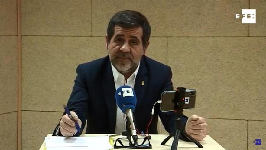"""Jordi Sànchez se abre a ser """"socio estable"""" del PSOE si acepta un referéndum"""
