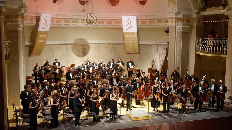 La violinista Shopia Jaffé y la Filarmónica de Armenia actúan esta semana en el Palacio de Festivales