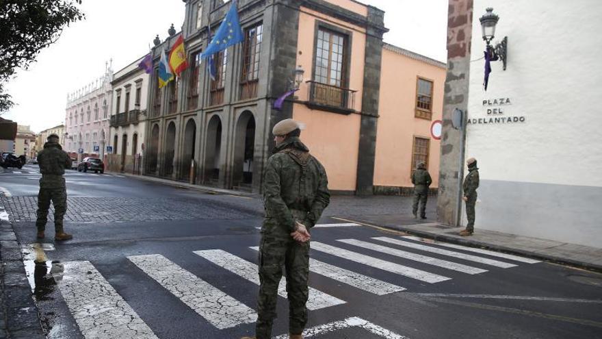 El Ejército ayuda en 73 residencias de mayores y patrullará con la Guardia Civil